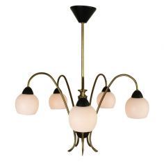 Italian Light Pendant Chandelier 1950s
