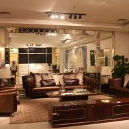 Italian Living Room Design Recessed Ceiling Lamps Natural