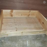 Jaime All Trades Diy Large Wooden Dog Bed