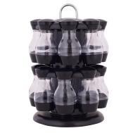 Jar Rotating Spice Rack Carousel Kitchen Storage Holder