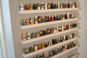 Jedi Craft Girl Diy Lego Minifigure Storage Shelves Tutorial