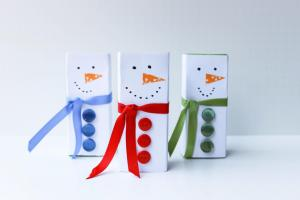 Juice Box Snowmen Chic