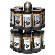 Kamenstein Jar Round Madison Spice Rack Food Storage