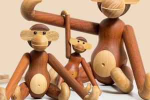 Kay Bojesen Wooden Monkey Decoist