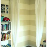 Keep Home Simple Reading Nook