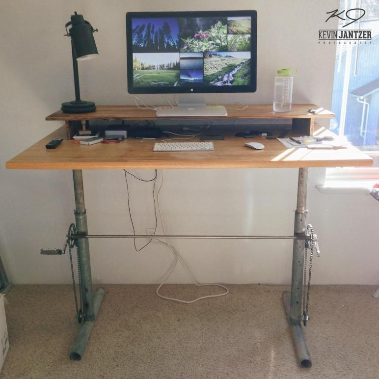 Kevin Jantzer Diy Adjustable Standing Desk