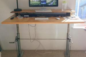 Kevin Jantzer Diy Adjustable Standing Desk