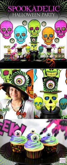 Kid Friendly Spookadelic Halloween Party Ideas Soiree