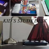 Kids Study Desk Organization Ideas Diy Organizer