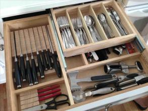 Kitchen Drawer Dividers Adjustable Organizers Cozy