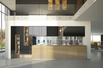 Kitchen Extraordinary Contemporary Minimalist
