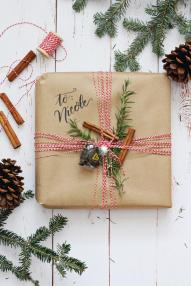 Kitchen Themed Gift Wrapping Ideas Lily Val Living