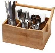 Kitchen Utensil Organizer Flatware Storage Cutlery Caddy