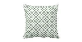 Krw Park Avenue White Emerald Decor Pillow Zazzle