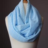 Laboratory Fashion Lacy Infinity Scarves Spring