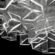 Lampadario Ice Lasvit Design Daniel Libeskind
