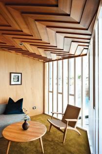 Large False Raised Ceiling Decor Vaulted Design