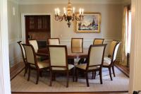 Large Round Dining Table Rustic