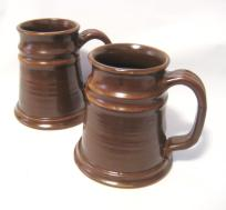 Large Tankard Stien Coffee Mug Handmade Pottery Pottersong