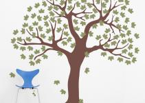 Large Tree Wall Decals Dog Breeds