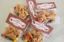 Larson Lingo Thanksgiving Cornucopia Treat Bag