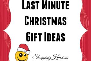 Last Minute Christmas Gift Ideas Shopping Kim