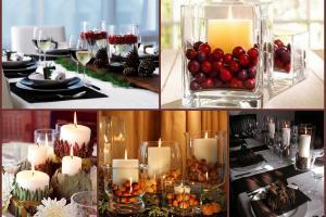 Last Minute Holiday Centerpiece Interiors Blog