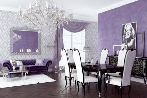 Lavender Living Room Dgmagnets