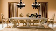 Lavish Classic Dining Table Designs Attractive Focal