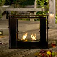 Lawn Garden Home Design Modern Outdoor Fireplace Ideas