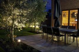 Led Outdoor Garden Lighting Design Ideas Set