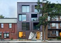 Leed Seeking Brick Building Montreal Hides Funky