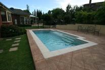 Leisure Pools Fiberglass Composite Swimming Tiki