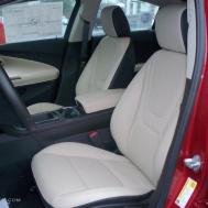 Light Neutral Dark Accents Interior 2012 Chevrolet Volt