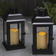 Lights Flameless Candles Lanterns Solar