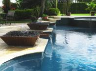 Likeable Outdoor Pool Design Idea Backyard Surround