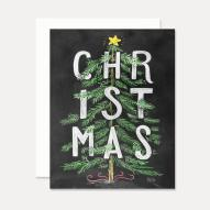 Lily Val Christmas Card Tree Boxed