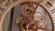 Lily Wooden Wall Clock