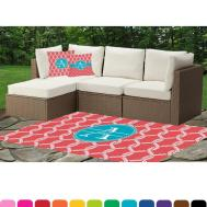Linked Rope Indoor Outdoor Rug Personalized