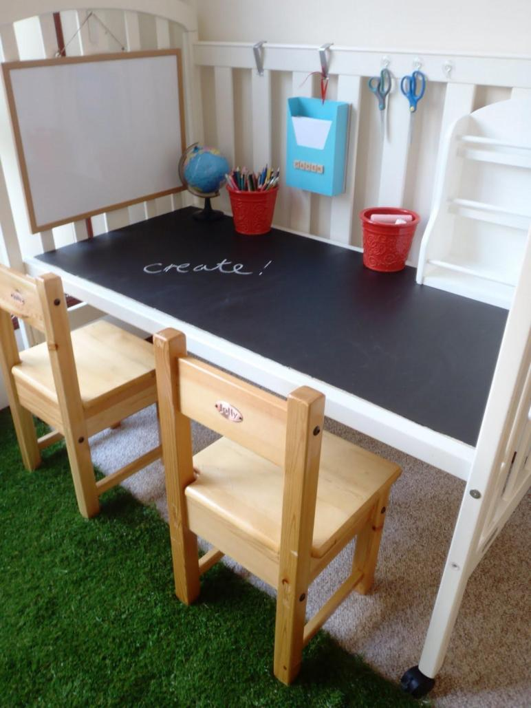Little Learning Two Repurposed Cot