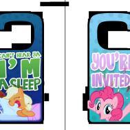 Little Pony Printable Door Hangers Daniel10alien