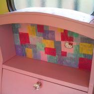 Little Vintage Caravan Patchwork Mini Desk