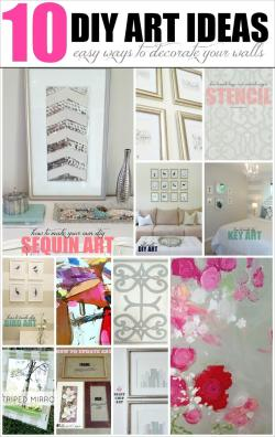 Livelovediy Diy Art Ideas Easy Ways Decorate Your