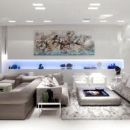 Living Room Elegant Decorating Ideas Modern