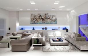 Living Room Elegant Decorating Ideas Modern