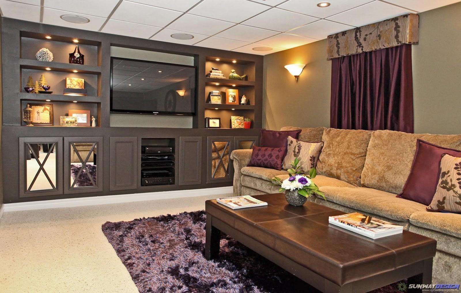 Living Room Ideas Samples Layout Basement - Decoratorist ...