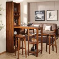 Living Room Mini Bar Furniture Design Wine Rack