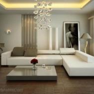 Living Room Shaped Sofa Minimalist Small
