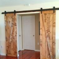 Living Room Sliding Barn Doors Fun Home Things
