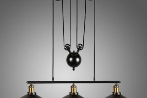 Loft Vintage Pulley Pendant Ceiling Light Hanging Lamp
